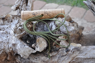 Oak Handled Coyote Drag, Turkey Tote, Deer Drag
